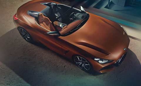 Bmw Concept Z4 Photos And Info News Car And Driver
