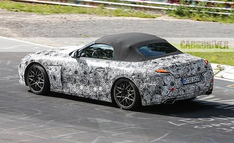 2019 Bmw Z5 Roadster Future Cars Car And Driver