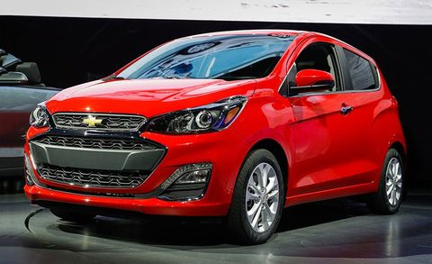 2019 Chevrolet Spark Gains New Front End, More Active ...