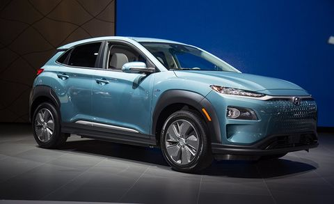 2019 Hyundai Kona Electric Debuts Packs A Big Battery News Car