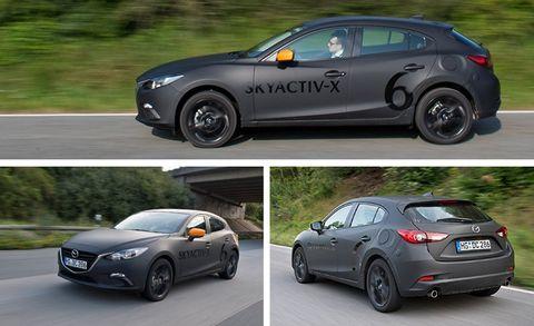 2019 Mazda 3 With Skyactiv X Compression Ignition Gas Engine