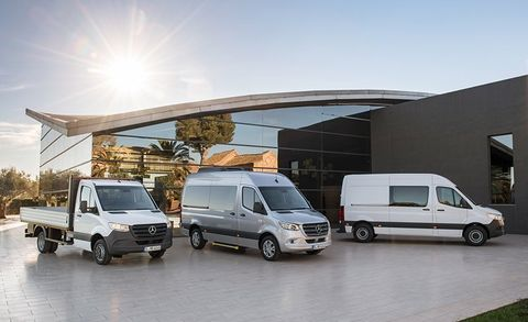 2019 Mercedes-Benz Sprinter Brings Big Tech to the Big Box