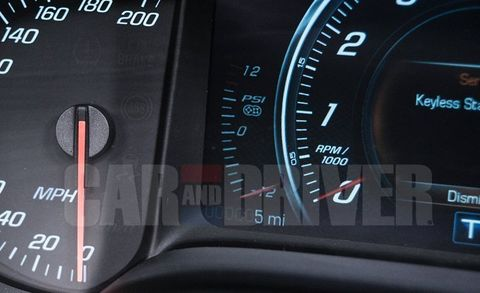 2014 Chevrolet Corvette C7 Supercharger Boost Gauge! –