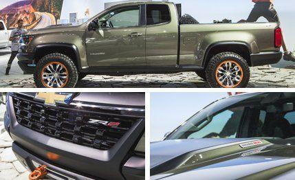 Chevrolet Colorado ZR2 Concept Photos and Info –