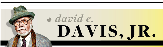 david e davis, jr column