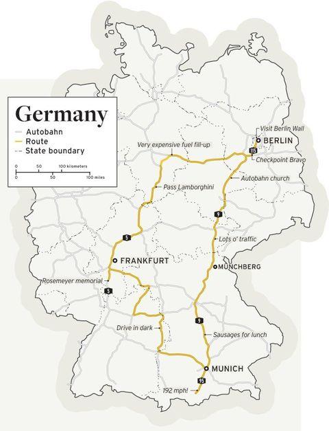 Deutschland De-Restricted: We Storm the Autobahn in the ...
