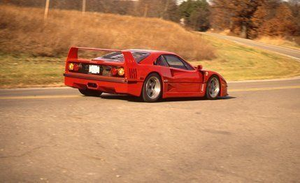 Ferrari F40 Archived Instrumented Test 8211 Review 8211