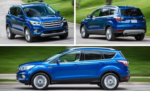 2017 Ford Escape 1 5L EcoBoost FWD Test –