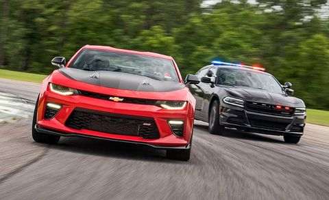 How Fast Does Your Car Need to Be to Outrun a Cop?   Feature