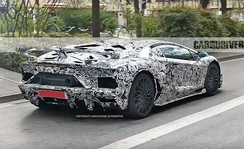 2019 Lamborghini Aventador Sv Jota Spied News Car And Driver