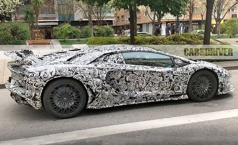 2019 Lamborghini Aventador Sv Jota Spied News Car And Driver