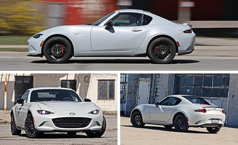 2017 Mazda MX-5 Miata RF Manual Test | Review | Car and Driver