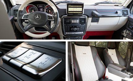 Mercedes-Benz G63 AMG 6x6 Prototype Drive –