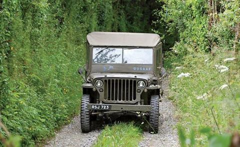 Storming Normandy In A World War Ii Jeep