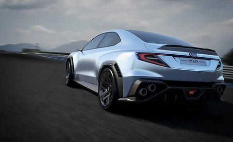 Subaru Viziv Performance Concept Previewing The Next Wrx