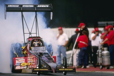 best service e5d7f d6ceb February 2, 1996  Connie Kalitta performs during the NHRA Winternationals  held at Pomona Dragway in California.