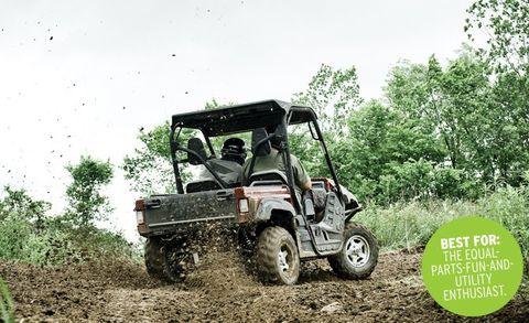 ATV Comparo: John Deere Gator XUV vs  Polaris Ranger RZR, Tomcar TM5