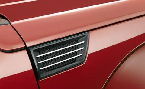 Motor vehicle, Red, Orange, Maroon, Parallel, Material property, Paint, Close-up, Grille, Coquelicot,