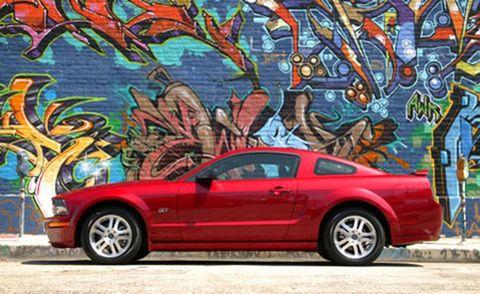 Tire, Wheel, Automotive design, Blue, Automotive tire, Vehicle, Alloy wheel, Rim, Red, Car,