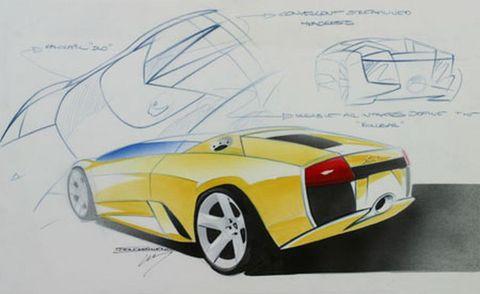 Motor vehicle, Mode of transport, Automotive design, Yellow, Automotive exterior, Automotive lighting, Vehicle, Transport, Concept car, Vehicle door,