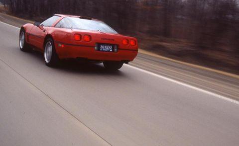 1990 chevrolet corvette zr 1