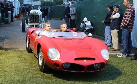 Vehicle, Automotive design, Land vehicle, Car, Fender, Performance car, Sports car, Plaid, Classic car, Hood,