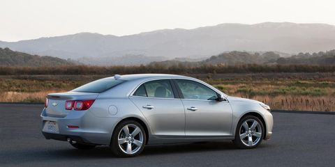 2014 Chevrolet Malibu Priced from $22,965 – News – Car and ...