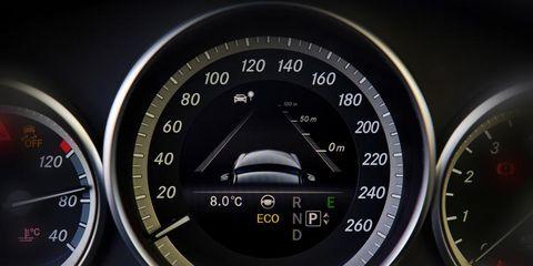 Transport, Gauge, Measuring instrument, Speedometer, Circle, Machine, Tachometer, Luxury vehicle, Silver, Number,