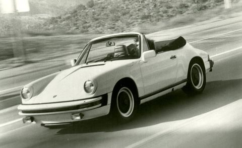 1983 porsche 911sc cabriolet exterior