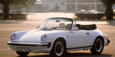 1983 porsche 911 sc cabriolet exterior