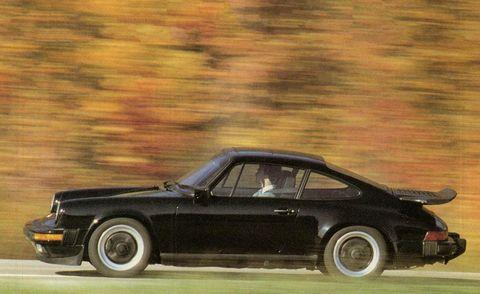 1984 porsche 911 carrera exterior
