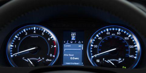 Mode of transport, Speedometer, Gauge, Tachometer, Measuring instrument, Trip computer, Odometer, Display device, Fuel gauge, Meter,
