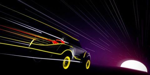 Motor vehicle, Automotive design, Vehicle door, Space, Animation, Graphics, Concept car, Luxury vehicle, Visual effect lighting, Star,