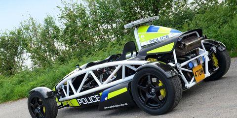 Best Cop Car Ever: Ariel Atom Enters Police Service in U K