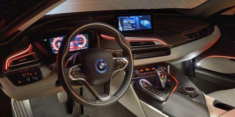 Motor vehicle, Steering part, Mode of transport, Steering wheel, Automotive design, Center console, Car, Vehicle audio, Personal luxury car, Speedometer,