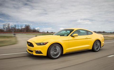 Tire, Road, Automotive design, Yellow, Hood, Vehicle, Automotive tire, Car, Rim, Performance car,