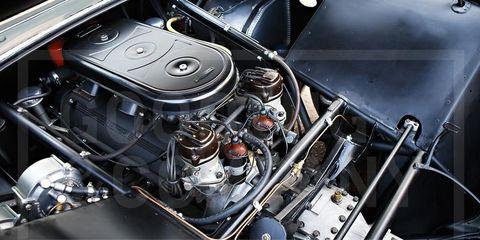 Engine, Automotive engine part, Automotive fuel system, Metal, Automotive super charger part, Automotive air manifold, Nut, Kit car, Carburetor, Screw,