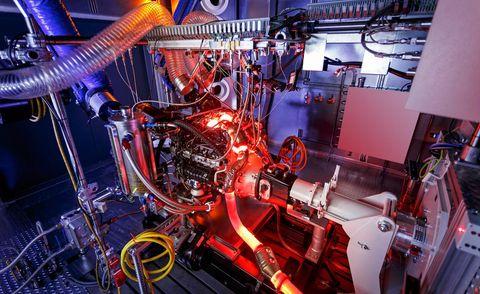 Engineering, Machine, Engine, Automotive engine part, Wire,