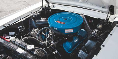 Engine, Automotive engine part, Electric blue, Automotive super charger part, Automotive air manifold, Fuel line, Nut, Kit car, Hood, Automotive fuel system,