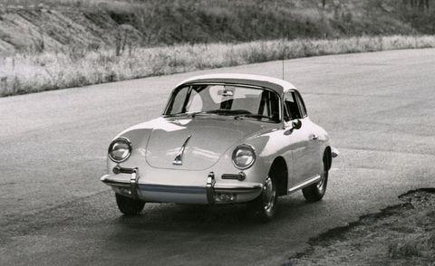 1963 Porsche 356B 1600 Super front exterior