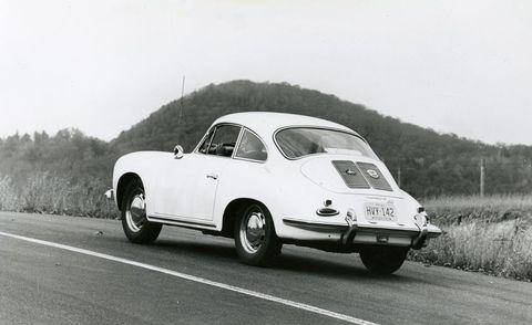 1963 Porsche 356B 1600 Super exterior rear