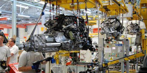 Machine, Engineering, Aerospace engineering, Industry, Engine, Service, Employment, Steel, Factory, Automotive engine part,