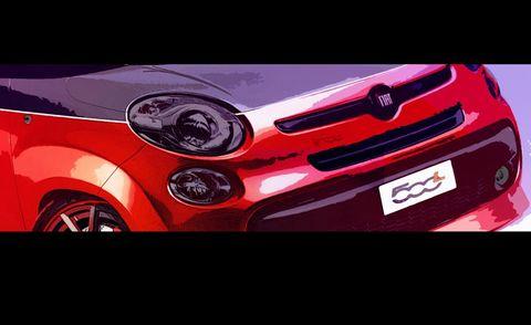Motor vehicle, Automotive design, Vehicle, Automotive exterior, Automotive lighting, Red, Car, Headlamp, Hood, Grille,