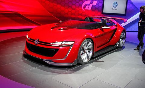 Tire, Automotive design, Vehicle, Land vehicle, Car, Red, Auto show, Concept car, Luxury vehicle, Personal luxury car,