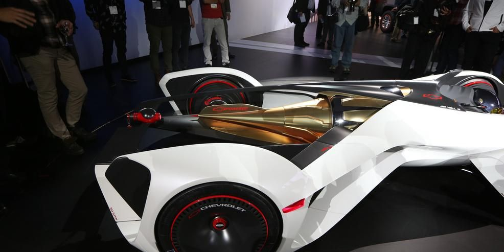 Chevy's Chaparral GT6 Concept Is a Real Thing with Theoretical Laser-Based Propulsion
