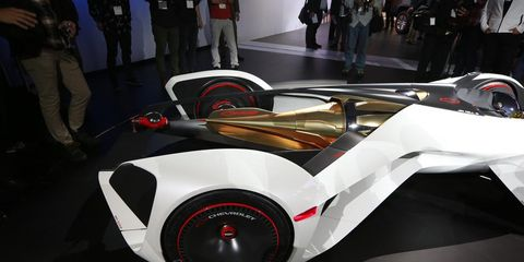 Chevy Chaparral Concept Has Laser Based Propulsion News Car And Driver