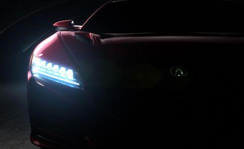 Automotive design, Automotive lighting, Automotive exterior, Light, Automotive tail & brake light, Luxury vehicle, Tints and shades, Personal luxury car, Automotive light bulb, Sports car,