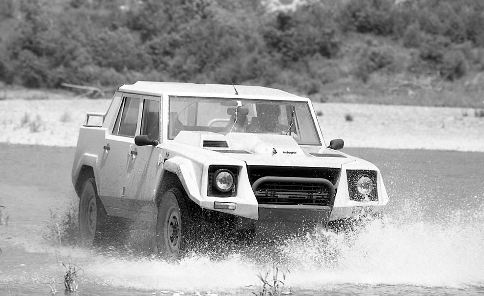 Lamborghini LM002 (1986–1993) Cool can be ugly, and vice versa.