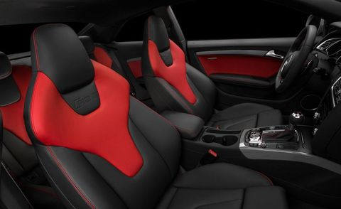 Motor vehicle, Mode of transport, Automotive design, Car seat, Red, Steering part, Car seat cover, Luxury vehicle, Vehicle door, Carmine,