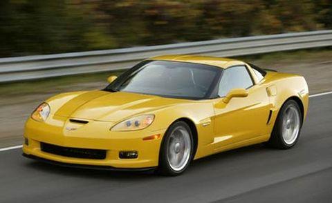 Land vehicle, Vehicle, Car, Sports car, Motor vehicle, Yellow, Performance car, Automotive design, Chevrolet corvette c6 zr1, Sports car racing,